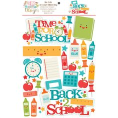 NEW RELEASE!!! Paper Die Cuts - Back to School A mixed bag of 30 PRE-CUT Die Cuts! http://www.misskatecuttables.com/products/paper-die-cuts/paper-die-cuts-back-to-school.php