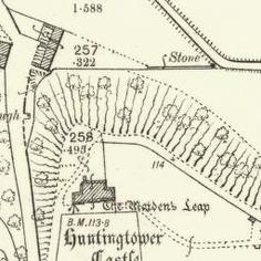 Huntingtower Ordnance Survey 25-inch 1899