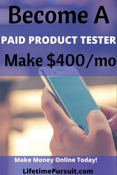 Need some extra money? Become a paid product tester Need some extra money? Become a paid product tester,Money Making Ideas Test products you have lying around the house or get shipped free products to test and get paid for your work! Make Easy Money, Ways To Save Money, How To Get Money, How To Become, Money Fast, Cash From Home, Earn Money From Home, Make Money Online, Online Jobs For Moms