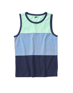 Colorblock Stripe Tank