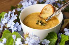 Butternut Squash – Apple Soup {Roasted Veggies, Cashew Milk, Non Dairy, Vegetarian}