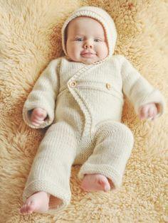 Vauvan neulehaalari -ohje