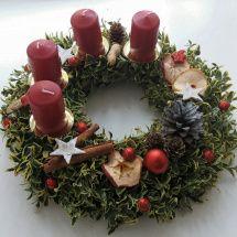 Buxus, Advent, Candle Arrangements, Noel