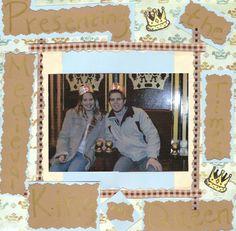 King and Queen - Scrapbook.com