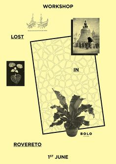 "poster for ""Lost in Rovereto"" Workshop"