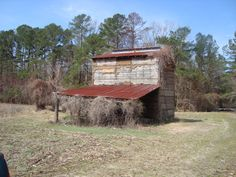 farm tobacco barn. There are many peppered around the Va countryside. We still have one at the family farm house.