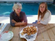 Constance Leto and Emma Ludbrook Two beautiful, smart women I look up to.