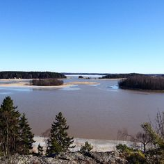 Sunny spring day in Porvoo. View from Tornikallio hill in Hamari.  www.visitporvoo.fi