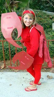 Diy Sebastian the little mermaid Halloween costume