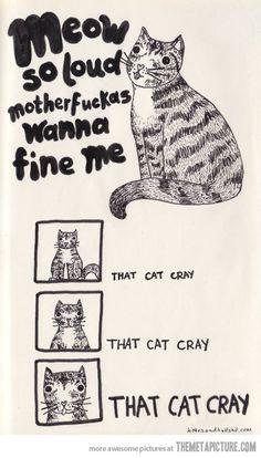 Cray cat!