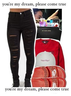 """""""⚡️ """" by trxp-trxll ❤ liked on Polyvore featuring NIKE"""