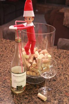 Naughty Elf (for adult eyes only) #elfontheshelf