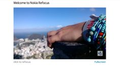 Nokia Refocus app for Lumia Windows Phone explained in details Nokia Pureview, Nokia Camera, Windows Phone, Technology Updates, User Guide, Digital Watch, Smartphone, Rings For Men, Skate Board