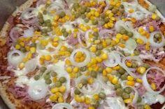 Receita de Pizza de liquidificador fácil. Enviada por Jessiany Paulo e demora apenas 20 minutos.
