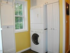 Laundry alcove - it ALL fits!