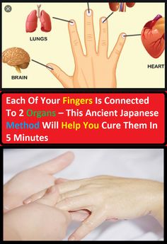 Each Of Your Fingers Is Connected To 2 Organs – This Ancient Japanese Method Will Help You Cure Them In 5 Minutes – Living Fine Kidney Symptoms, Lack Of Common Sense, Facts About People, How To Calm Nerves, Dry Cough, Hand Massage, Eye Strain, Health Facts, The Cure