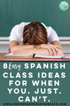 Struggling to make it to the final bell? Try one of these ideas! Each is student-centered, easy on the teacher, and engaging for Spanish students! #spanishclass #lessonplan #spanish1 #spanish2 #subplan