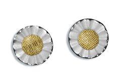 earrings silver/925 gold /750