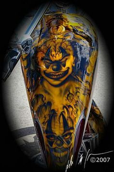 Inspiration for the Ultimate Custom Show at Manchester Central www.ultimatecustomshow.com Motorcycle Paint Jobs, Motorcycle Tank, Lace Painting, Air Brush Painting, Custom Tanks, Custom Bikes, Airbrush Art, Helmet Paint, Custom Airbrushing