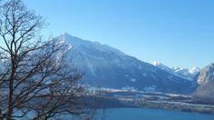 Winter in #Sigriswil. #lakethun #thunersee #niesen #interlaken