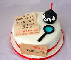 Detektiv Essen zum Kindergeburtstag: leckere Rezepten von Torten, Kuchen, Getränke