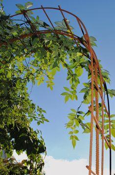 Potager Garden, Garden Arbor, Garden Gates, Diy Garden Bed, Garden Cottage, Diy Trellis, Garden Trellis, Wisteria Pergola, Garden Arches