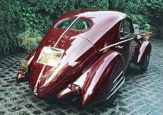 Fiat Balilla Mille Miglia Berlinetta Coupe rear view