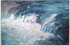 Hiroshi Yoshida (1876-1950) - Rapids (Keiryu), 1928