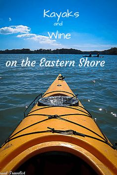 Exploring the waters and #wine of Virginia's Eastern Shore