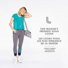 Discover our Yoga looks! // Découvrez nos looks de Yoga!