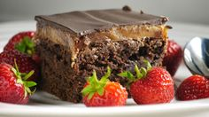 pastry recipes: Almond butter millionaire brownies recipe