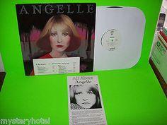ANGELLE-VINTAGE-1977-VINYL-LP-PROMO-WITH-FRONT-COVER-DECAL-BIO-INSERT-PE-34836 #angelle #vinyllp #vintagevinyl