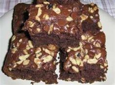 Amish friendship bread Chocolate Brownies Recipe