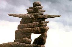 Only in Canada :) Zen Rock, Rock Art, Rock Sculpture, Cheap Hobbies, Rock And Pebbles, Rock Concert, Sticks And Stones, Beautiful Rocks, Stonehenge