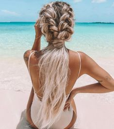The Kelsey Floyd Summer Collection ☀️ // Pick your fav❗️ 😎 - hair peinados Curled Hairstyles, Summer Hairstyles, Cool Hairstyles, Wedding Hairstyles, Hairstyle Ideas, Country Hairstyles, Formal Hairstyles, Medium Hair Styles, Short Hair Styles