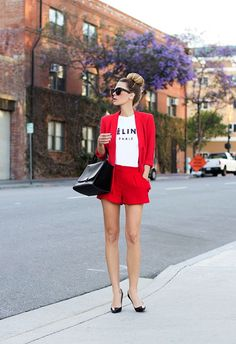 Outfits with pantsuit in short (5) - Beauty