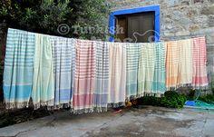 Turkish Towel Peshtemal Fouta Towel Turkish bath by turkishbubbles, $26.00
