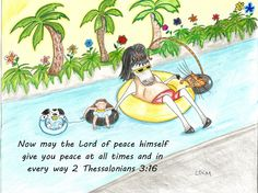 2 Timothy 3:16 stay peaceful