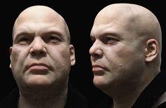 ArtStation - Kingpin Portrait. Vincent D'Onofrio., Carlos Sastre (C1-Workshop)