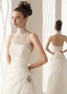 Beautiful Prom Dresses, aire barcelona bridal gown style blonda p Jennifer Bridal Stunning Wedding Dresses, Bridal Wedding Dresses, Bridal Gown Styles, Mi Long, Dress Collection, One Shoulder Wedding Dress, Marie, Ball Gowns, Glamour