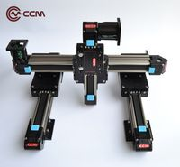 CCM W40-06 1000mm 4pcs linear guide rail motion 3d stage CNC Z axis