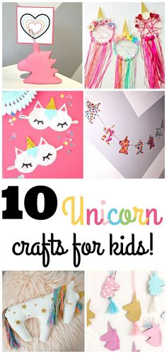 105 Best Unicorn Crafts For Kids Images In 2019 Unicorn Crafts