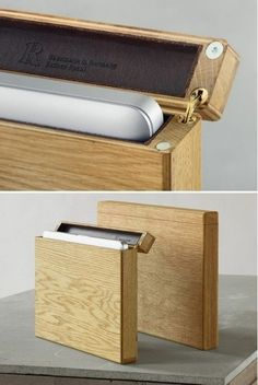 Cool Wooden Macbook Case