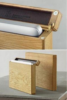 Cool Wooden Macbook Case