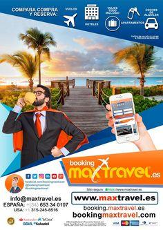 Bienvenido a Booking Maxtravel – Max Travel  | Ofertas de viajes, y vacaciones: reserva con la agencia online | Busca vuelos, hoteles y coches de alquiler |