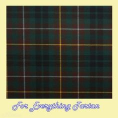 Buchanan Hunting Modern Tartan 10oz Wool Fabric Lightweight Swatch  by JMB7339 - $25.00