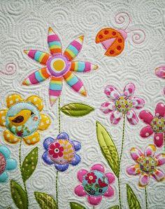 Quilt ''Flowers''