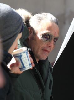 UPDATE: Mads Mikkelsen's Mysterious Villain Reveals Himself In More Intriguing DOCTOR STRANGE Set Photos