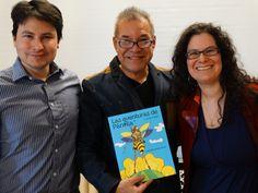 Presentación y lectura del libro de David Alvarado Mora Las aventuras de Pánfila la mosca abeja en el prestigioso Colegio Villa Marceline à Montreal