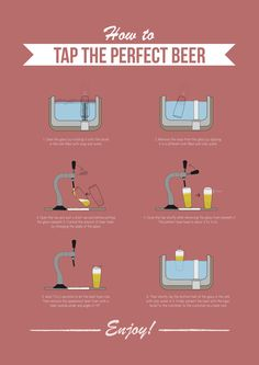 How to tap the perfect beer
